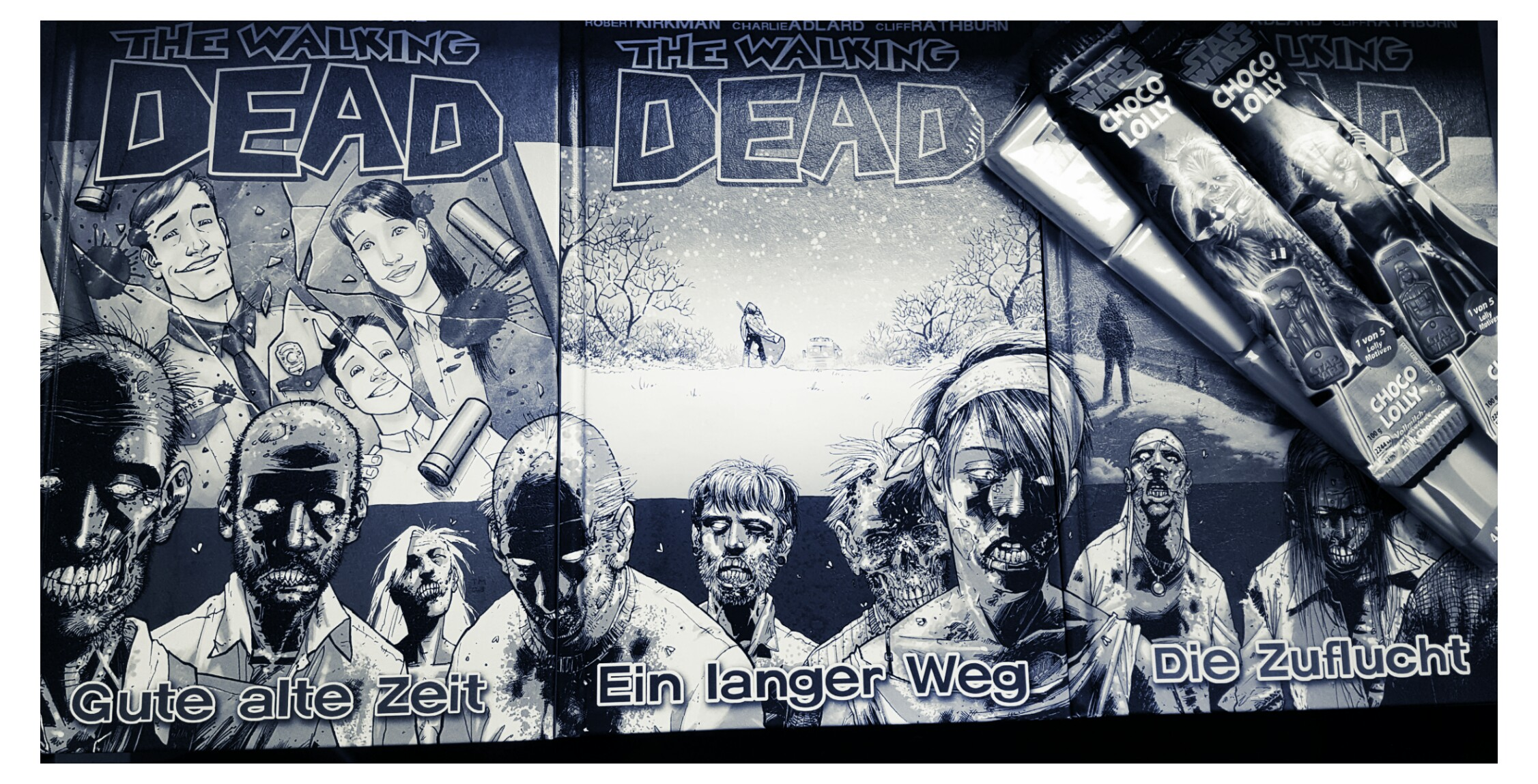 [Short] Robert Kirkman – The Walking Dead. Graphic Novels