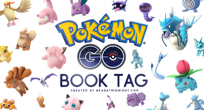Pokemon Go Book Tag