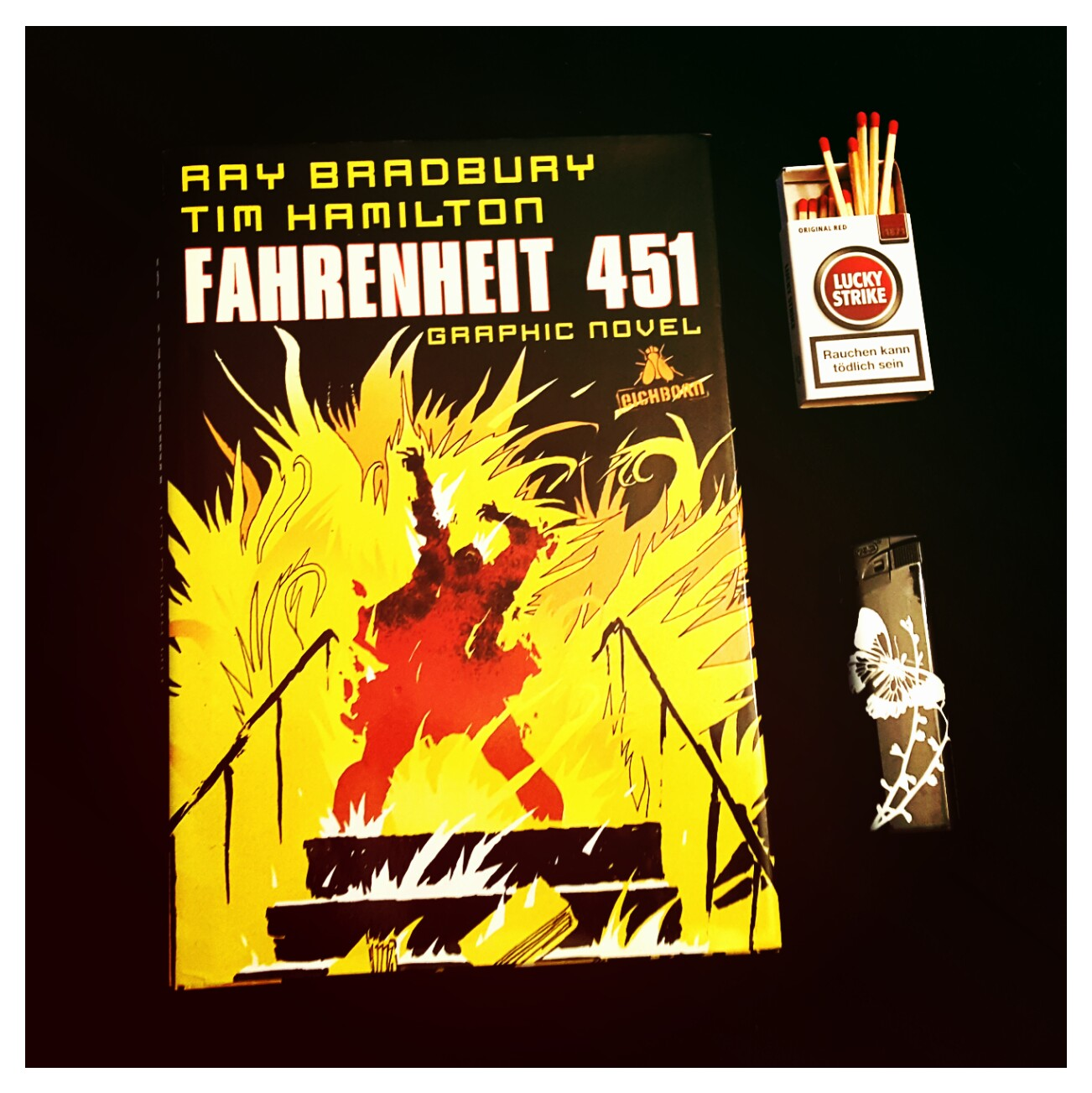 [Rezension] Bradbury/Hamilton – Fahrenheit 451. Graphic Novel