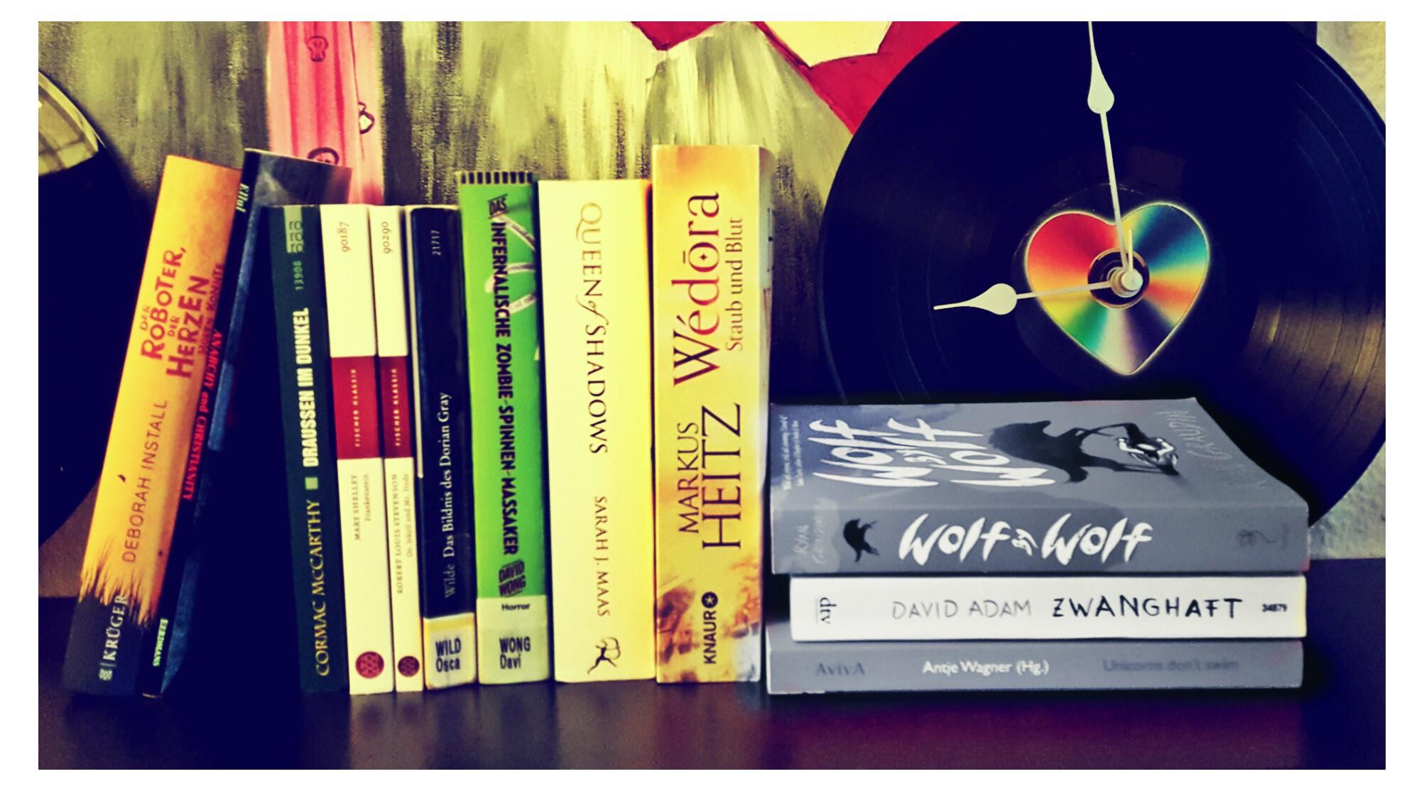 [Rabennestnews] Zwischenstand August: Freunde sind wichtiger als Bücher