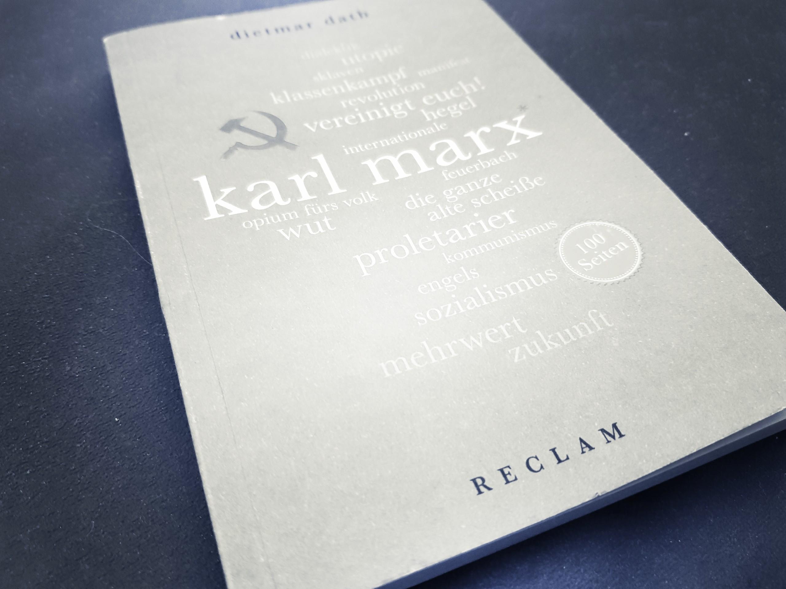 [Rezension] Dietmar Dath – 100 Seiten Karl Marx