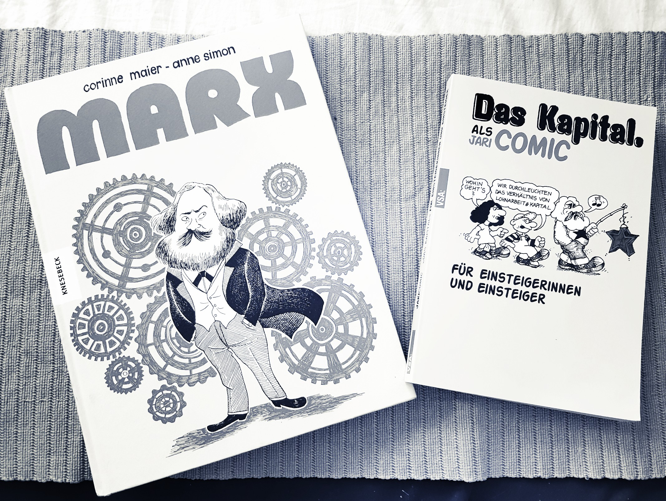 [Rezension] Maier/Simon – Marx || Jari – Das Kapital als Comic
