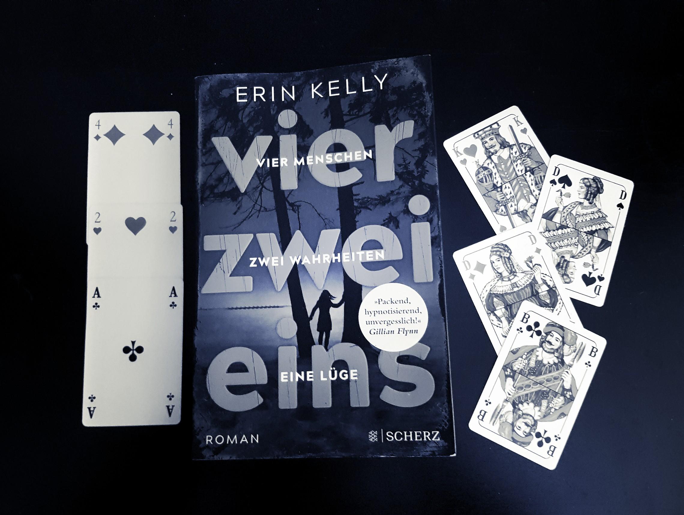 [Rezension] Erin Kelly – vier. zwei. eins.