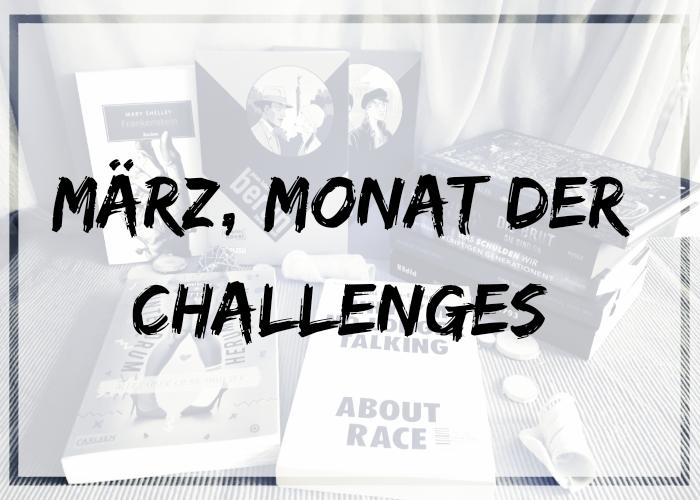 [News] März, Monat der Challenges