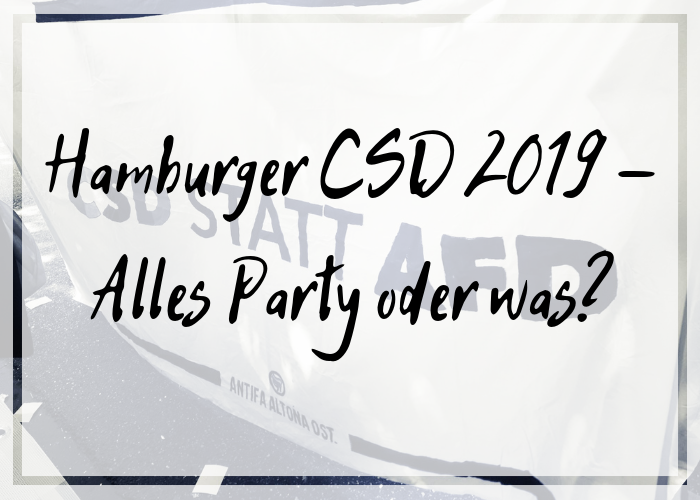 [Sturmkrähe] CSD – Alles Party oder was?
