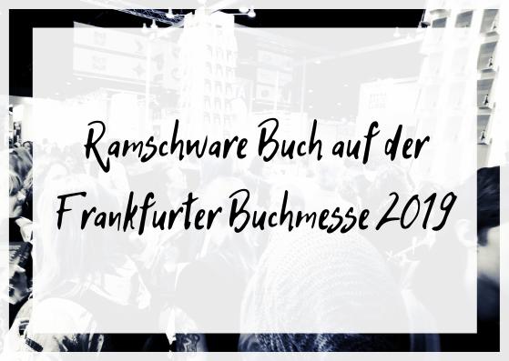 Ramschware Buch auf der Frankfurter Buchmesse 2019