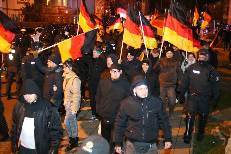 Nazi Demonstration in Rostock